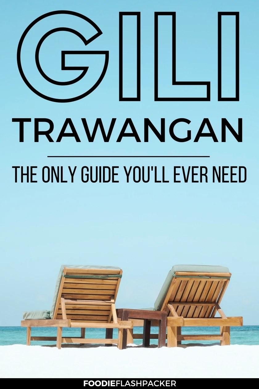 guide to gili trawangan
