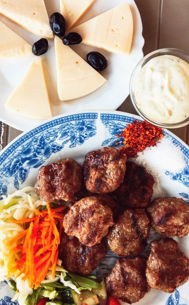 kofte albanian food