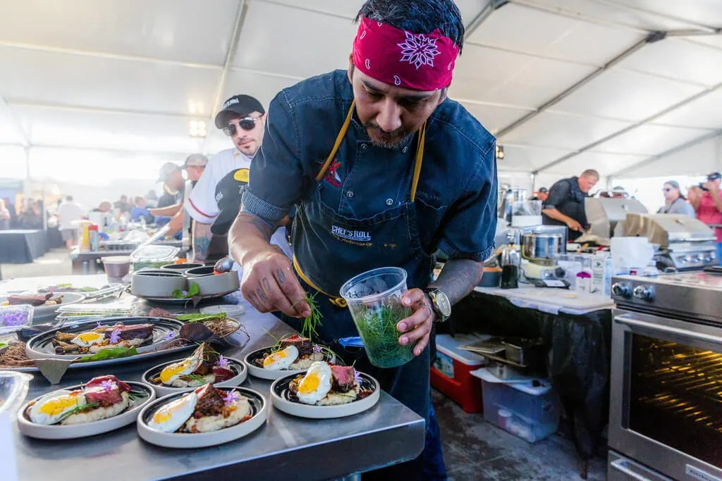 Judging the 2017 World Food Championships