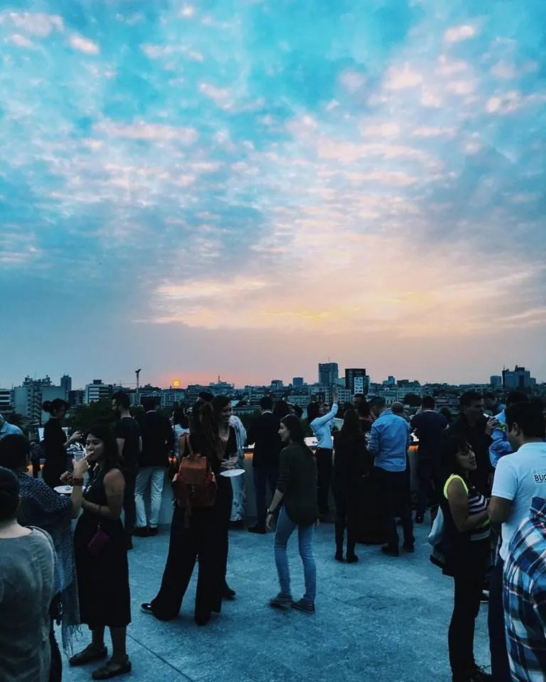 Experience Bucharest - We partied on rooftops of private museums not yet open to the public.