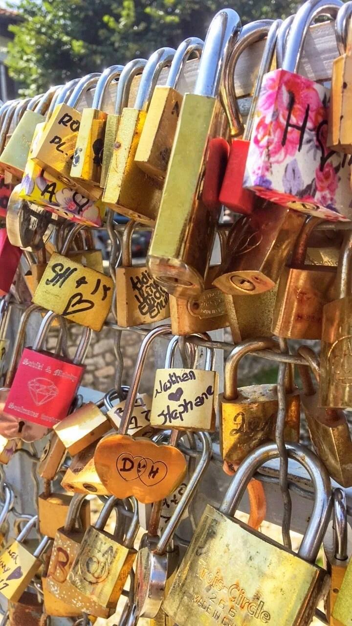 love locks - A Guide to Prizren, Kosovo