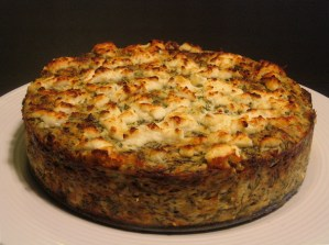 Agretti Cheesecake from modernbeet.com