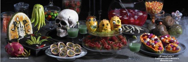 Freaky Fruits Display by Melissas as seen on Home & Family Show, Hallmark