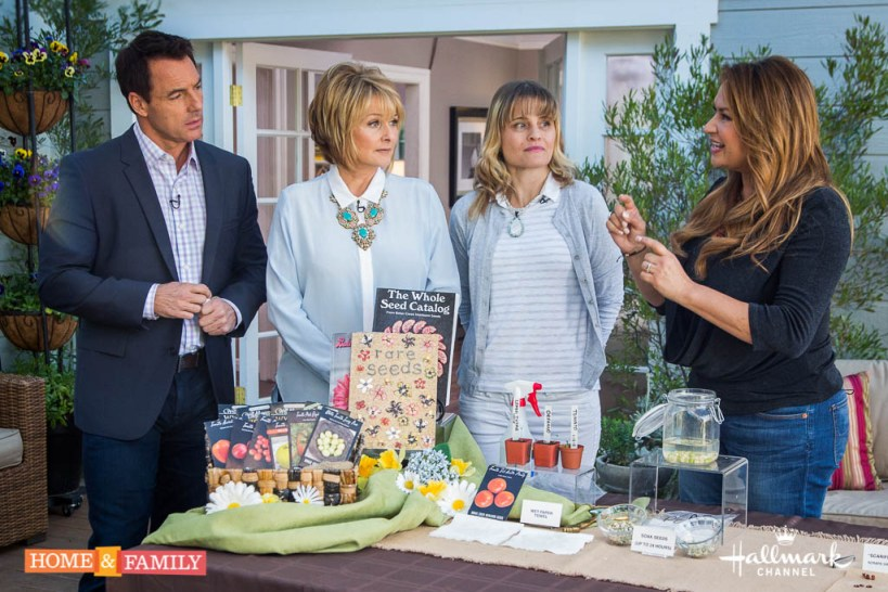 garden designer expert shirley bovshow seed germination on home and family show mark steines cristina ferrare