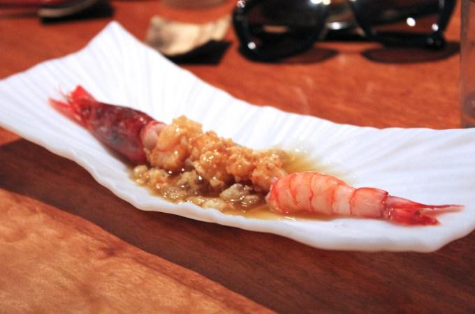 Estrella shrimp at Koy Shunka