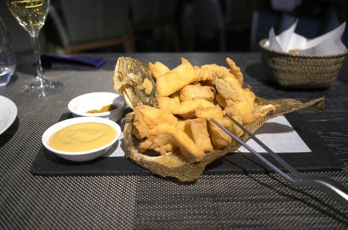 Deep Fried Turbot / Rodaballo Frito