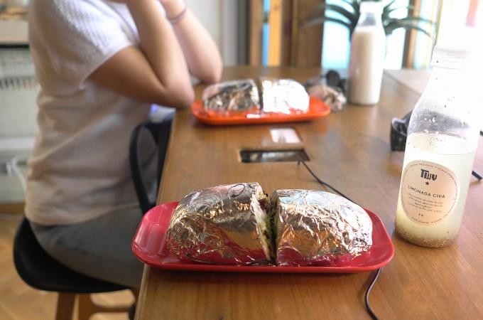 Burrito at Teicawey