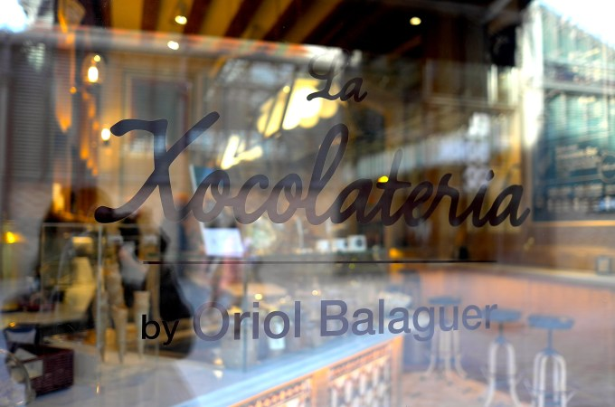 La Xocolateria - Oriol Balaguer Chocolate
