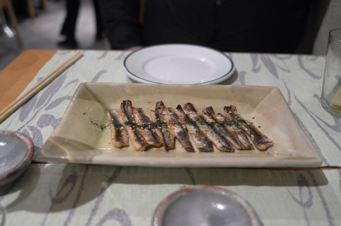Sardines at Shunka