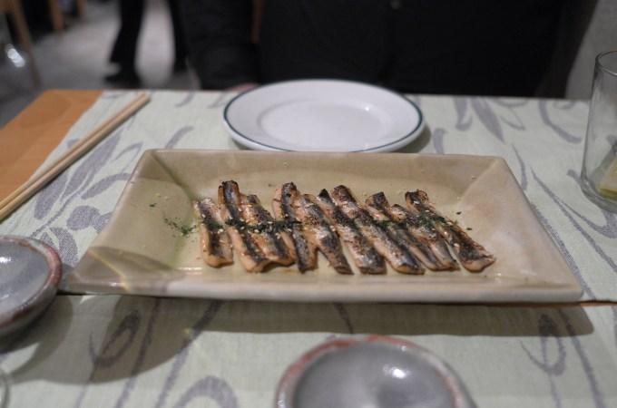 Sardines at Shunka