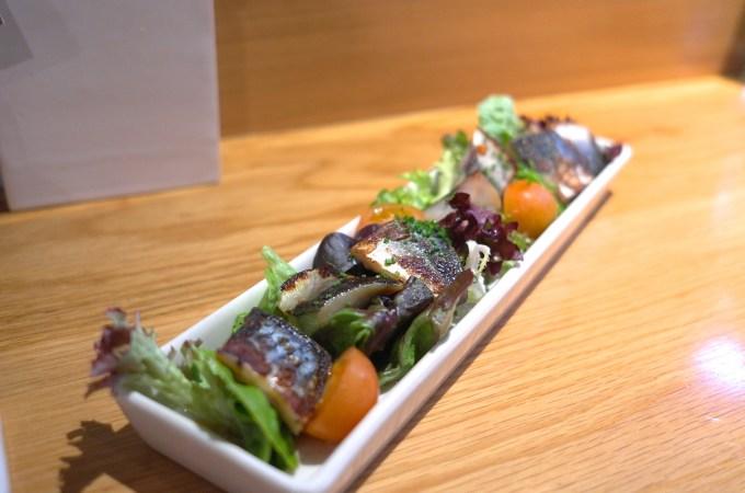 The mackerel at Can Kenji