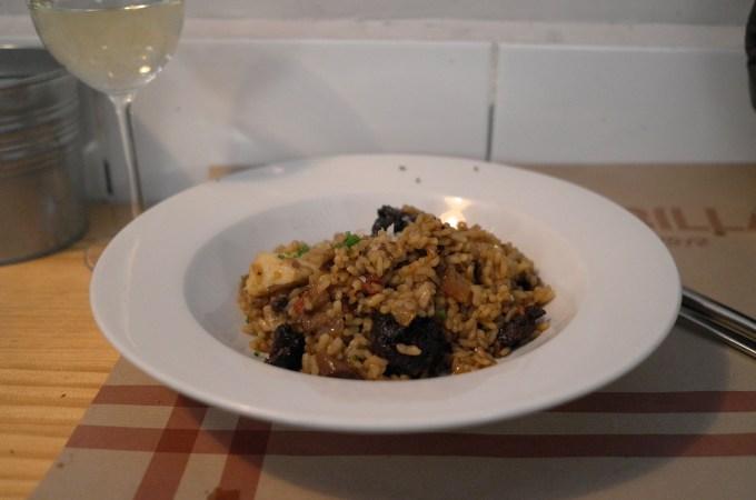 Rice dish at La Pubilla