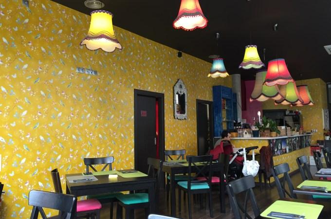 The playful interior at El Petit Bangkok