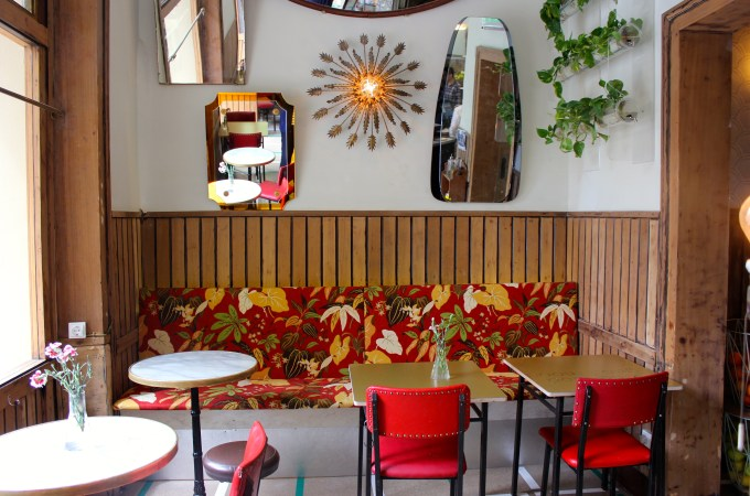 The interior at Rodriguez y Co