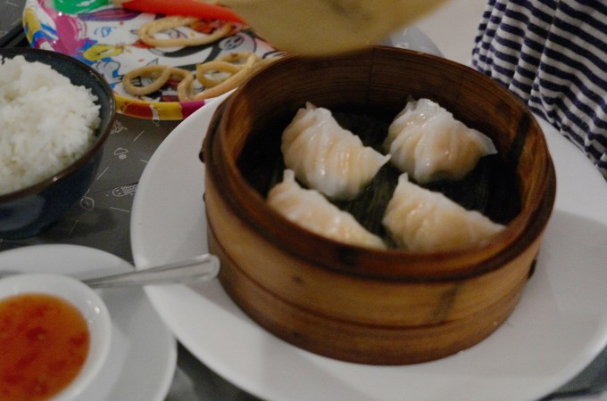 Delicious dim sum at Melo-Jia Chinese