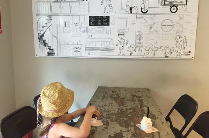 Ice cream at Gocce di latte