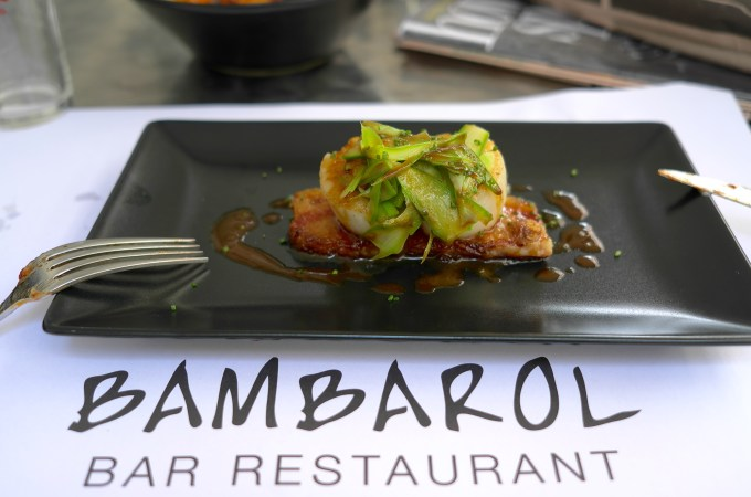 Scallops at Bambarol