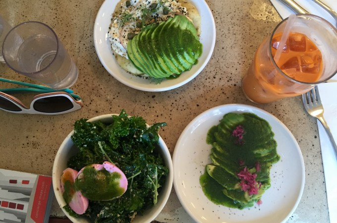 The healthy, vibrant delicious dishes at El Rey
