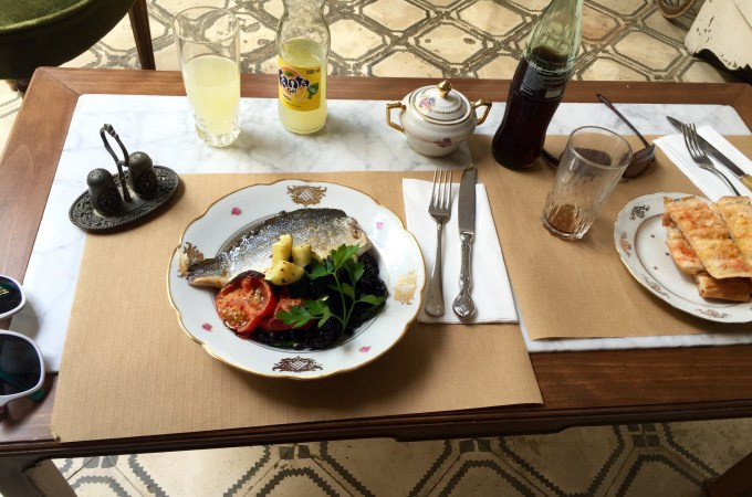 The menu del dia at Ugot