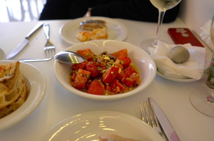 Tomato salad at Norte