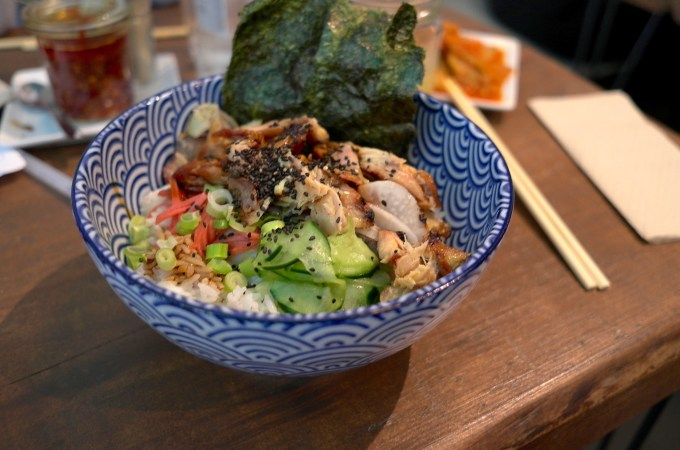 Donburi at Koku Kitchen Buns