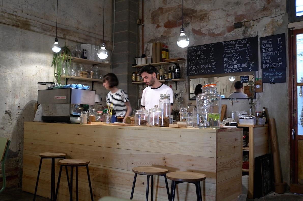 The bar at Espai Joliu