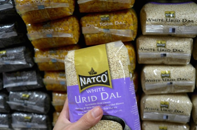 More Dal than you could ever hope for at J.K. Indian Supermarket Barcelona