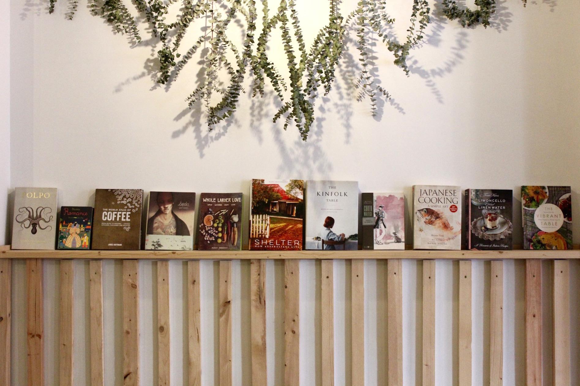 Books of inspiration at Espai Egg