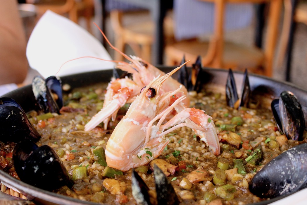 Paella at Kaiku Barceloneta