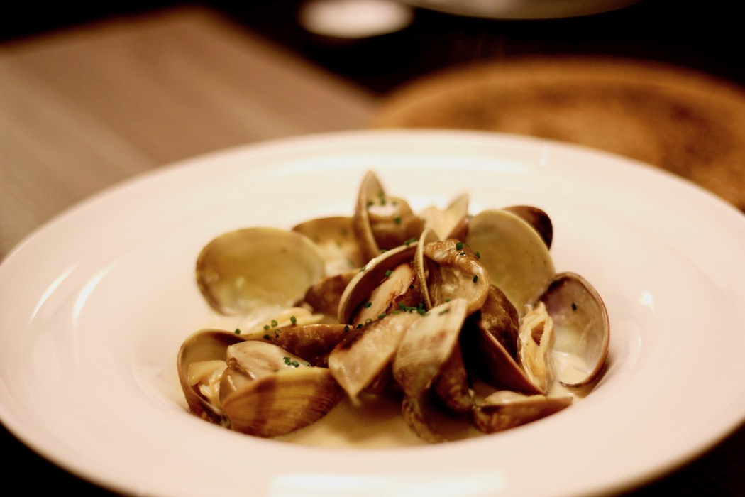 Clams at Petit Pau Sants