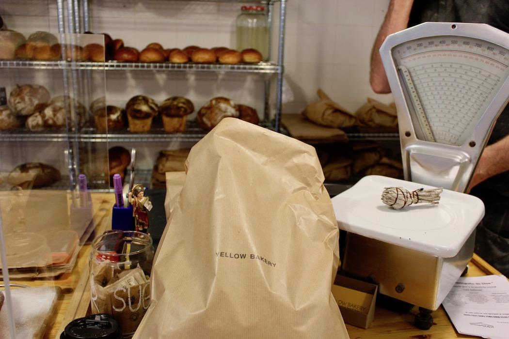 Bagged sourdough loaf