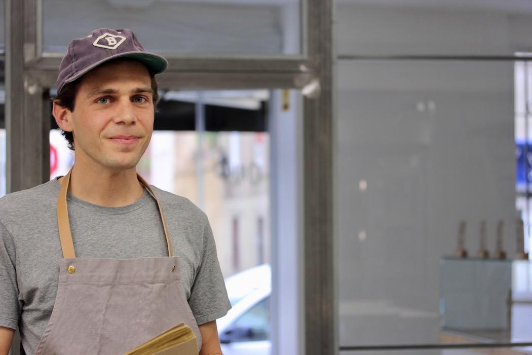 The head baker at Origo Bakery