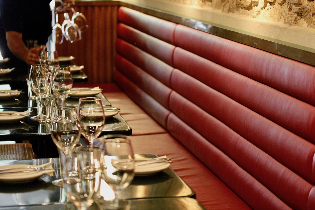 Red Banquette at Gresca Bar