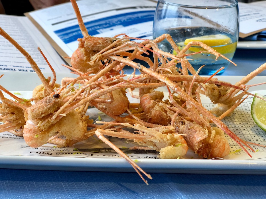 Mosquitos in my Top 10 Places to Eat in Sitges