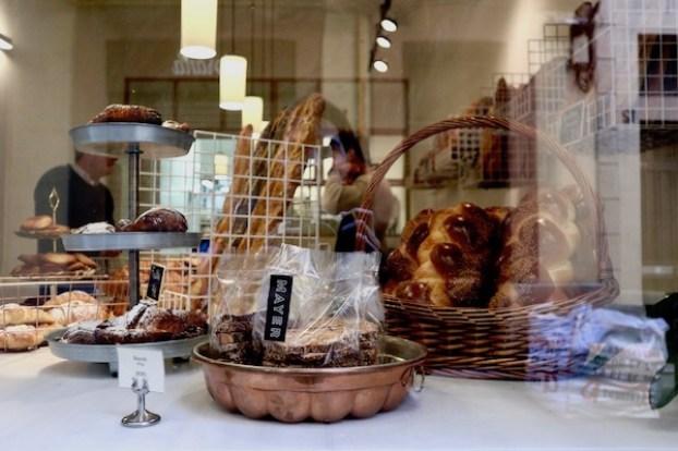 Window at Mayer Bakery Barcelona