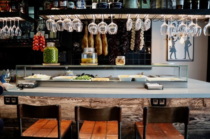 The Bar Inside at Quilo Bar Tapas