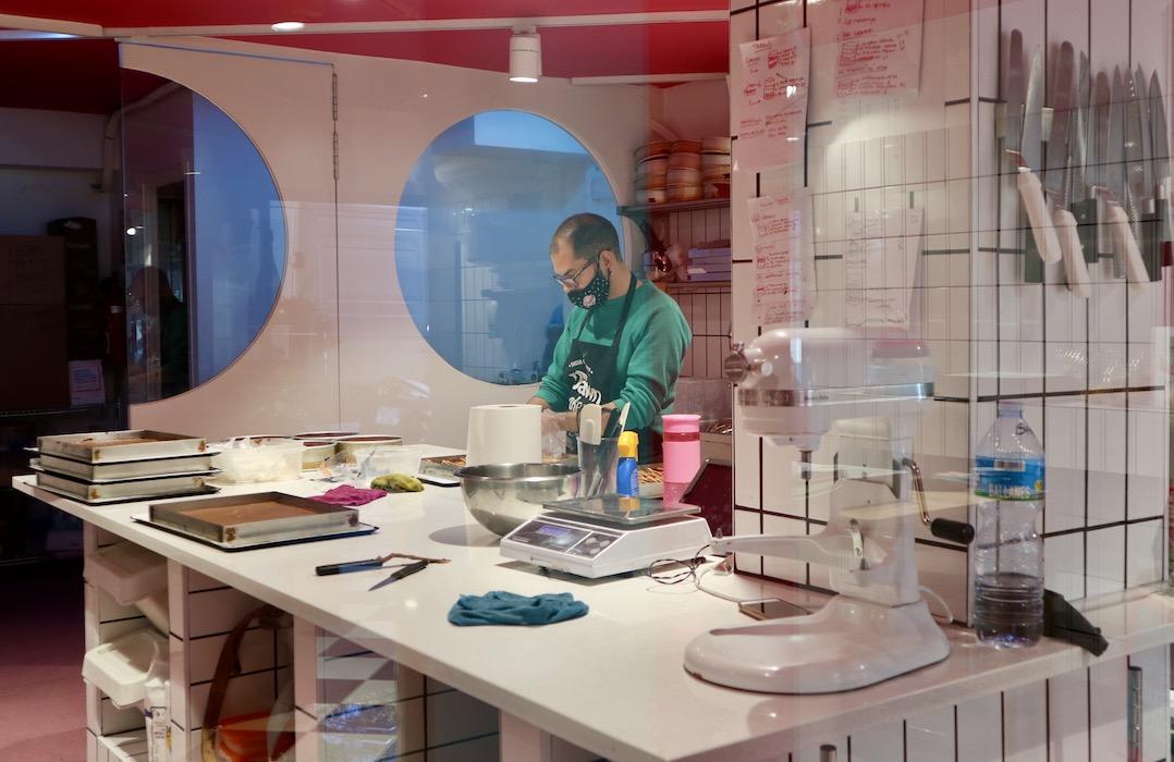 The workshop at Petit Pastis