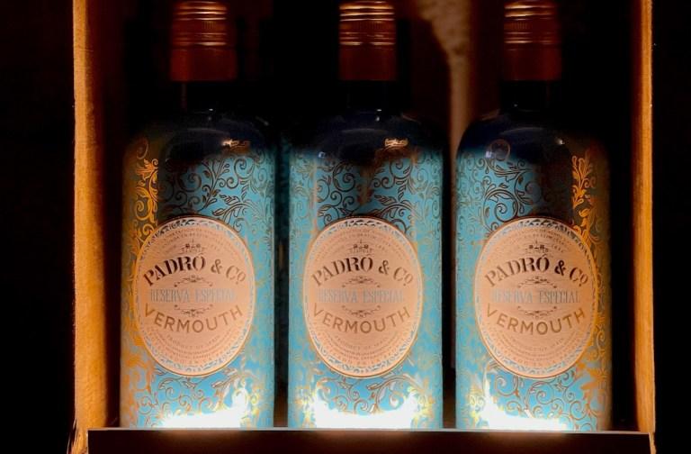 Vermouth Padro bottles