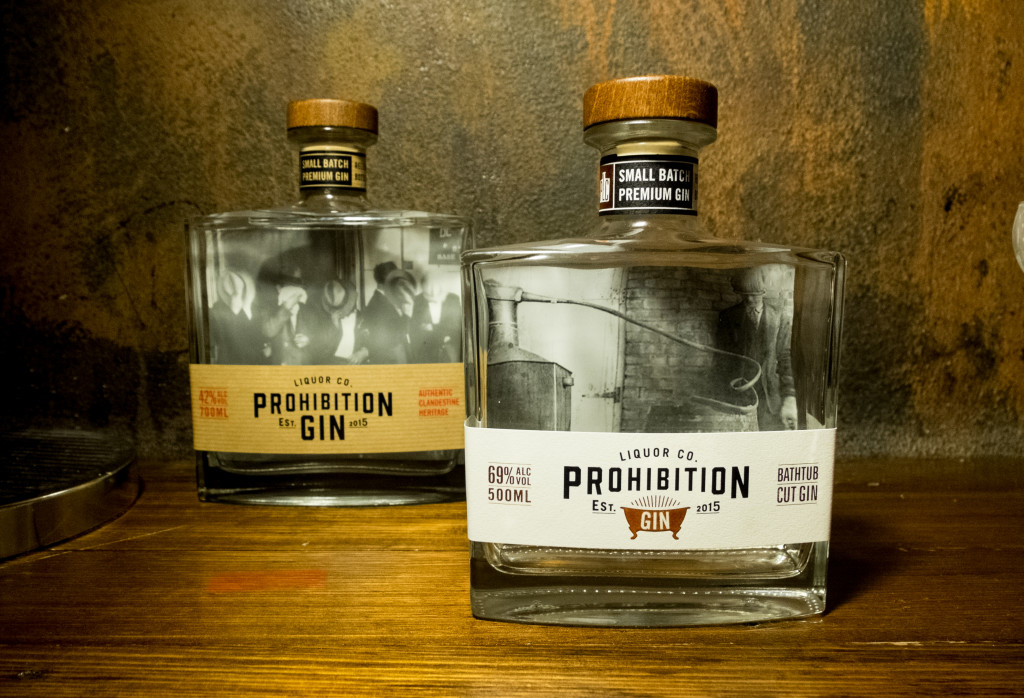 Prohibition Liquor Co Launches Bathtub Cut Gin Foodie Ling