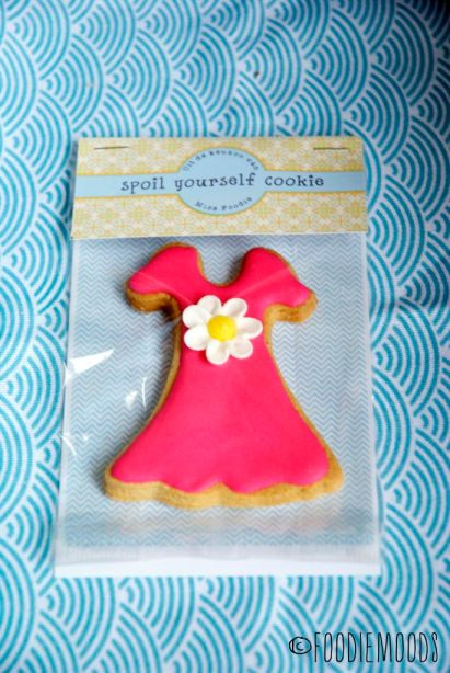 spoil yourself cookie Miss Foodie