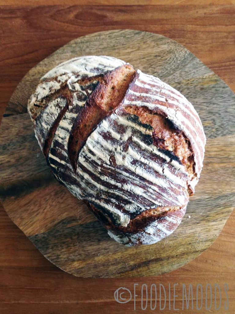 niet-kneden-brood recept miss foodie