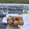 Apple Fritters with Cinnamon Glaze- Sideways Brewery Snack