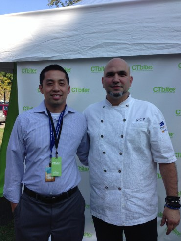 Chef Michael Psilakis and Allen
