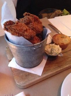 Buttermilk Chicken with Biscuits