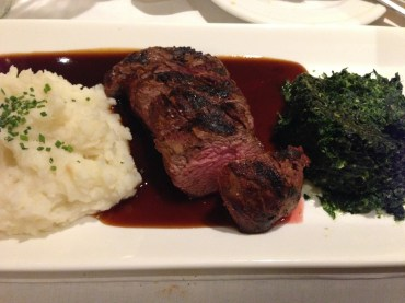 Petit filet of beef