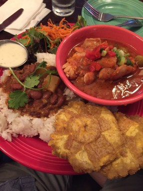 Well-rounded plate at La Isla