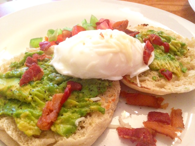 Protein-Packed Smashed Avocado