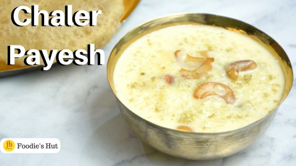 Chaler-Payesh recipe by Foodie's Hut