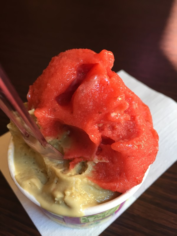 Strawberry/Pistachio
