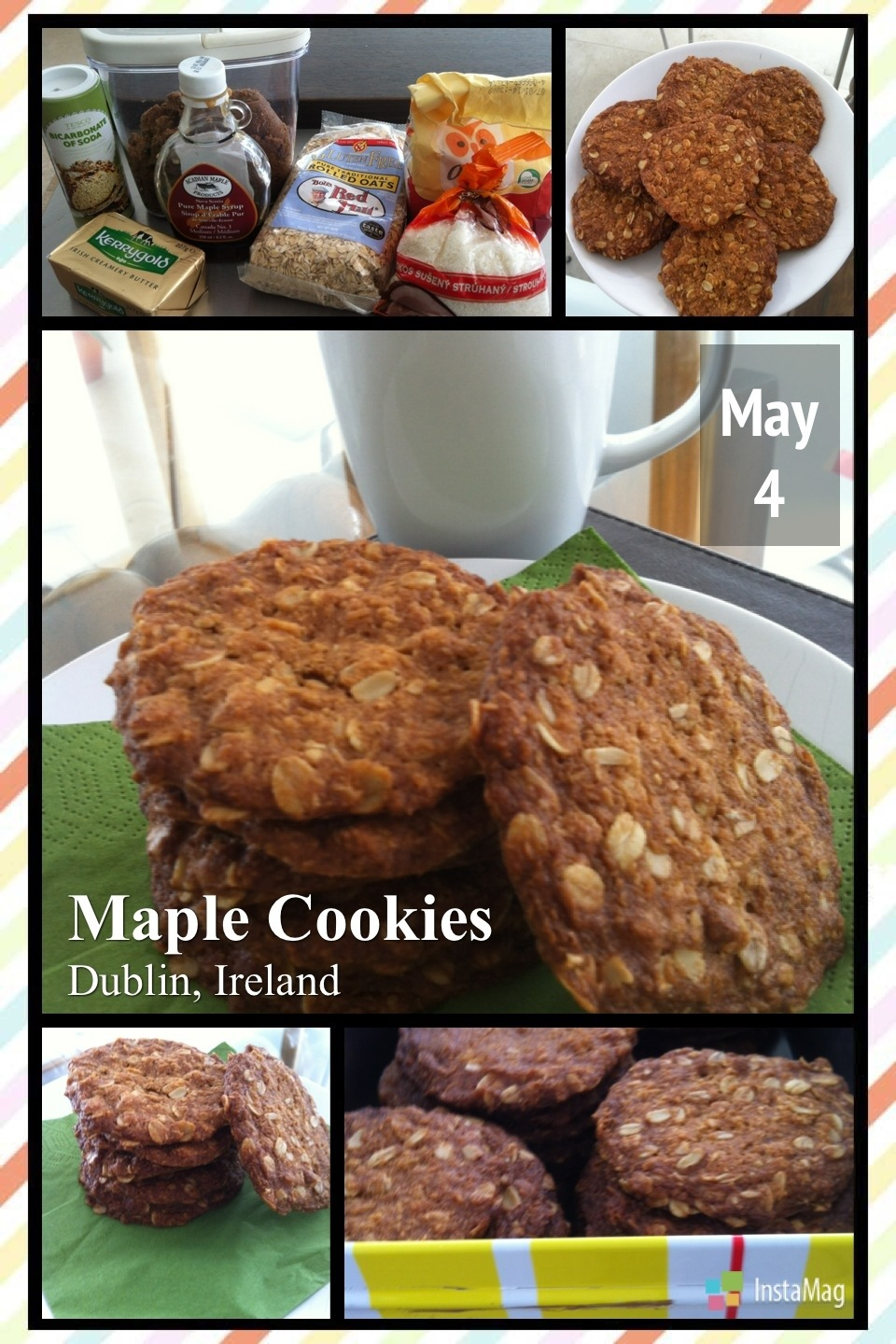 """IB"" Maple Oats Cookies"